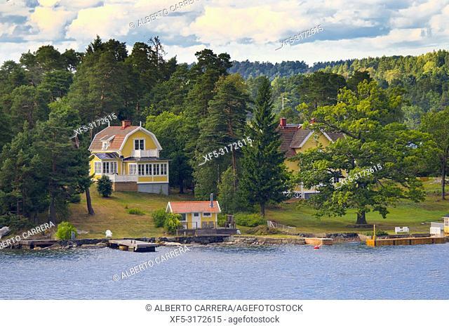 Stockholm Archipielago, Stockholm Fjord, Baltic Sea, Stockholm, Sweden, Scandinavia, Europe