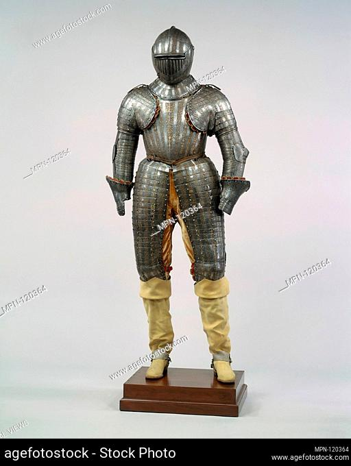Armor for a Member of the Barberini Family. Date: ca. 1623-30; Geography: Milan; Culture: Italian, Milan; Medium: Steel, gold, silver; Dimensions: Wt