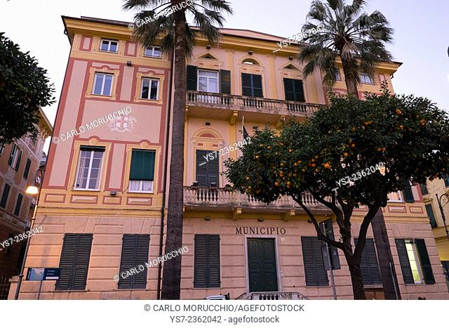Santa Margherita Ligure town hall, Genova, Liguria, Italy, Europe