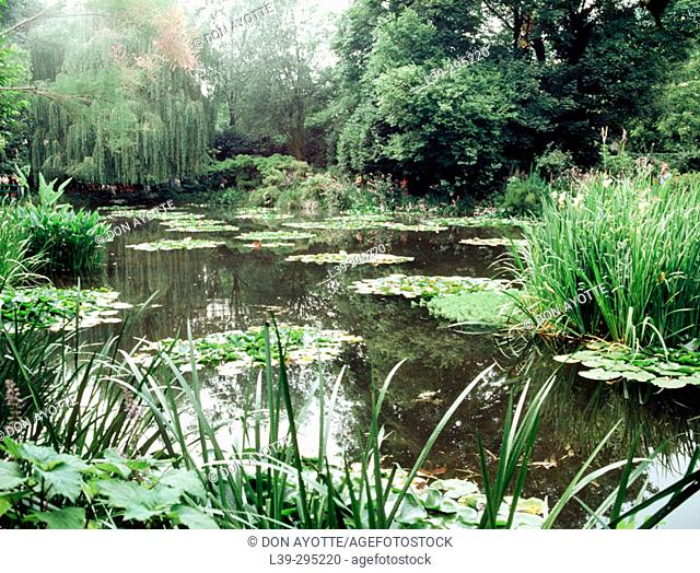 Claude Monet's Gardens. Giverny. France