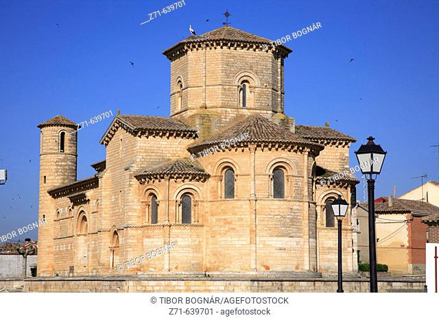 Spain, Castilla Leon, Fromista, Iglesia de San Martin church