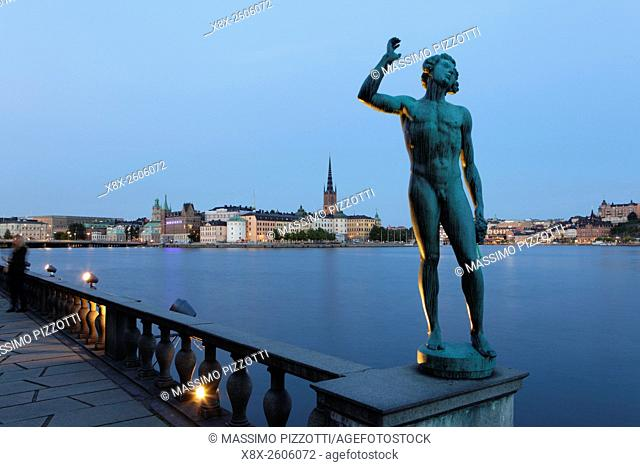 View of Gamla Stan (Old city) in Stockholm, Sweden