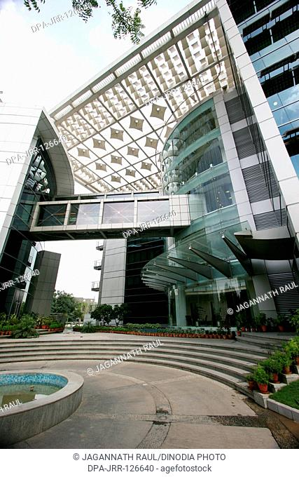 Entrance of IOCL (Indian Oil Corporation Ltd.) building ; New Delhi ; India