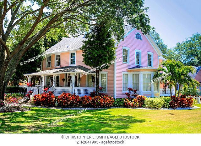 Old Peoples nursing home at 209 Scotland Street in Dunedin, Florida