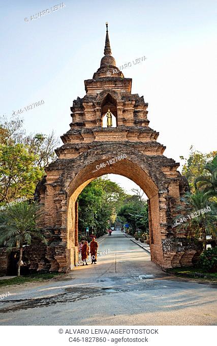 Temple, Chiang Rai Province, Thailand