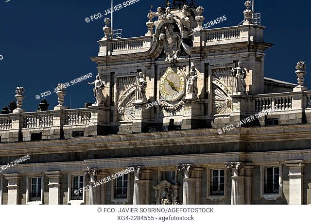 Royal Palace of Madrid - Comunidad de Madrid - Spain - Europe