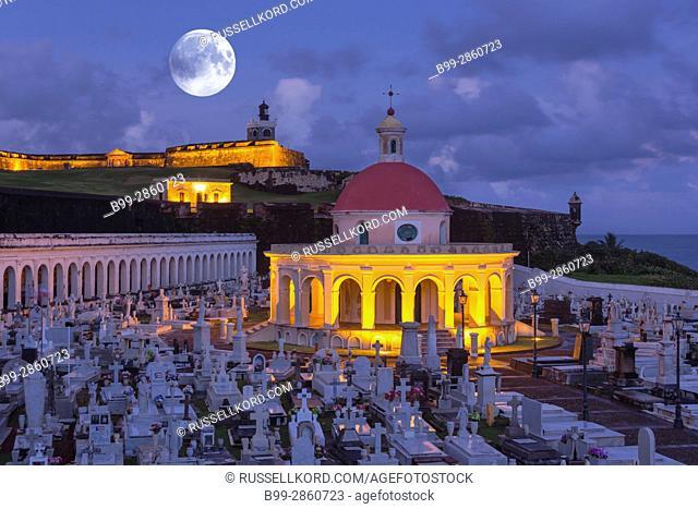 CHAPEL SANTA MAGDALENA DE PAZZIS CEMETERY CASTILLO SAN FILIPE DEL MORRO OLD SAN JUAN PUERTO RICO