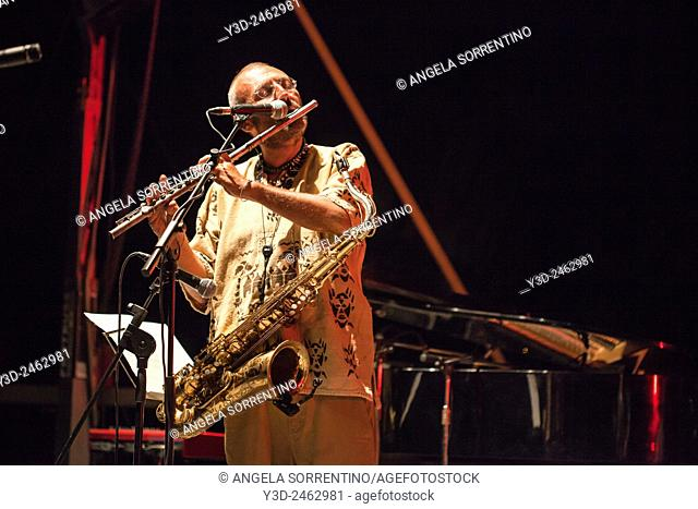 The Italian saxophonist and composer Daniele Sepe