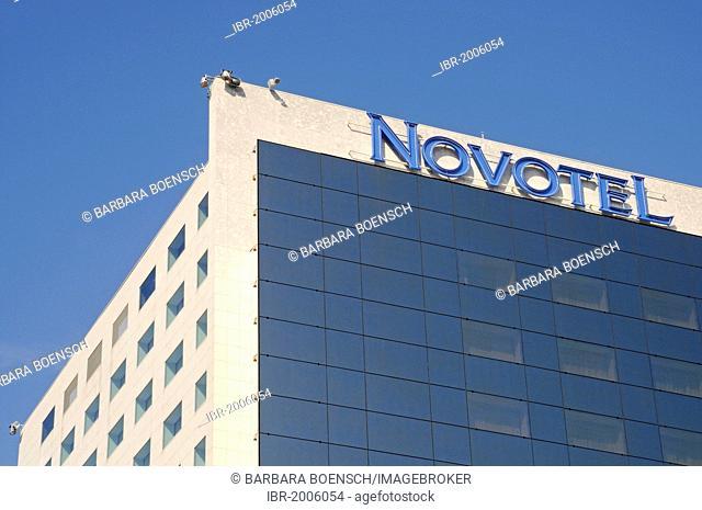 Novotel Hotel, multistorey building, Bucharest, Romania, Eastern Europe, Europe, PublicGround