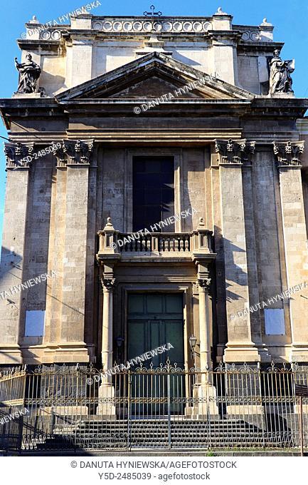 Europe, Italy, Sicily, Catania, Chiesa Di San Domenico, Piazza San Domenico