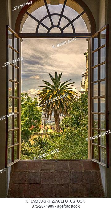 View Through the window, Oaxaca, Mexico