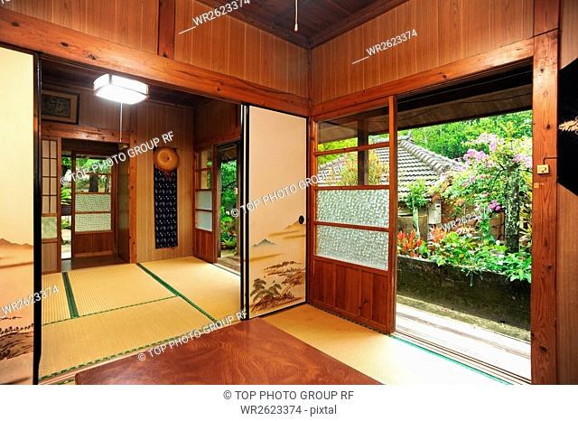 Kunigami-gun Bise;Ryukyu old houses chan;Japan