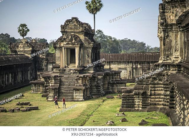 Tempelanlage Angkor Wat, Kambodscha, Asien | Angkor Wat temple complex, Cambodia, Asia