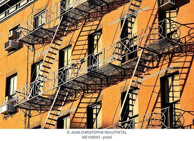 Building, New York City, USA