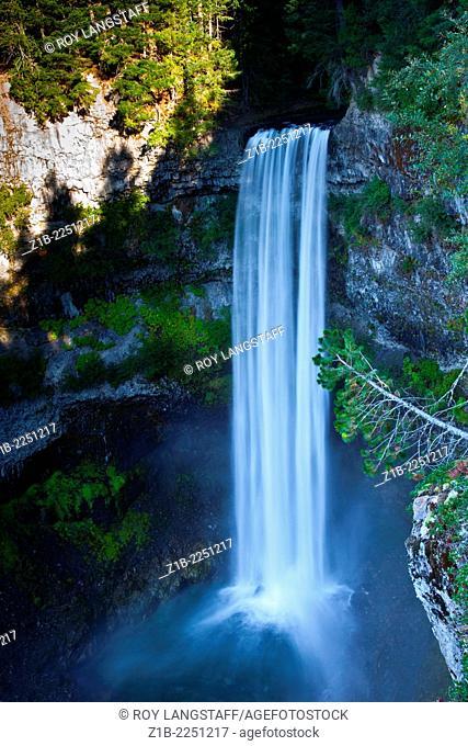 Brandywine Falls, near Whistler, British Columbia, Canada