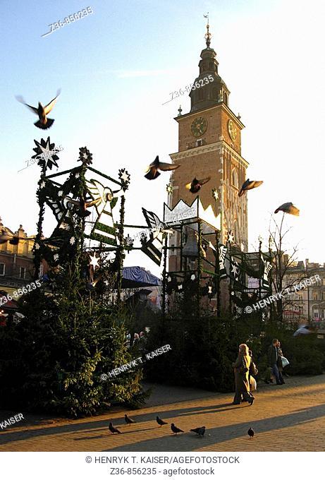 Poland, Krakow at Christmas