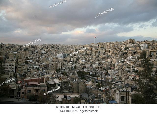 Amman is known as the city built on seven hills