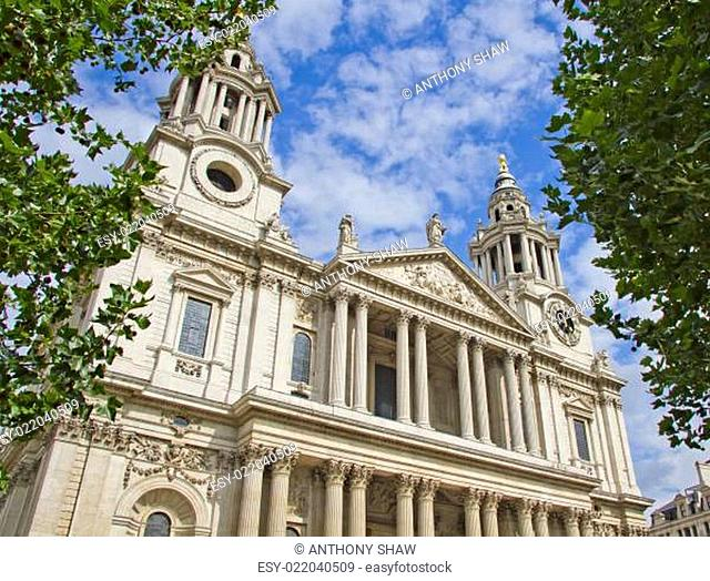 Facade of St Pauls Cathedral