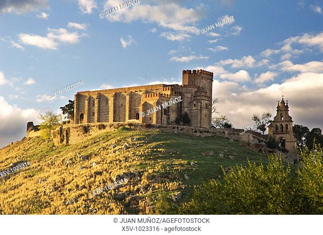 Templar Castle. Aracena. Natural Park of Aracena and Picos de Aroche. Huelva. Andalucia. Spain