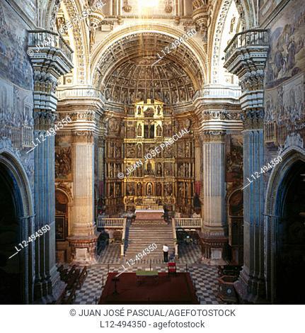 Los Jerónimos church, Granada. Andalusia, Spain