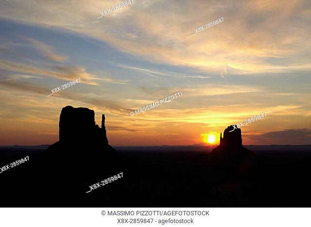 Sunrise at Monument Valley, Arizona, United States