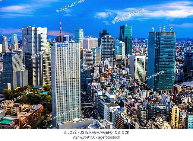 Japan, Tokyo City, Akasaka District