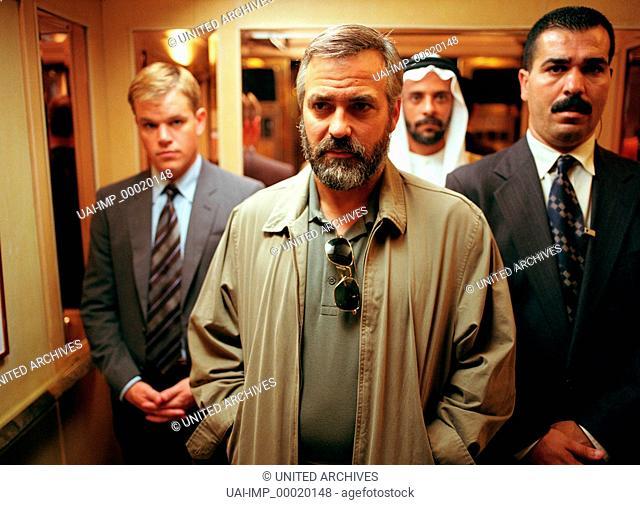 Syriana, (SYRIANA) USA 2005, Regie: Stephen Gaghan, MATT DAMON, GEORGE CLOONEY