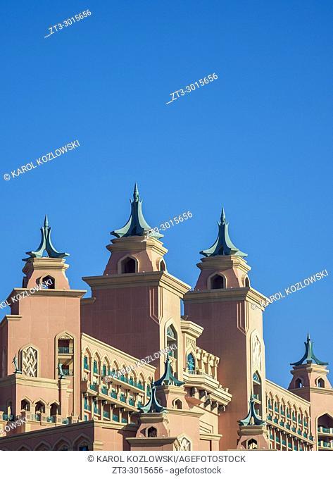 Atlantis The Palm Luxury Hotel, Palm Jumeirah artificial island, Dubai, United Arab Emirates
