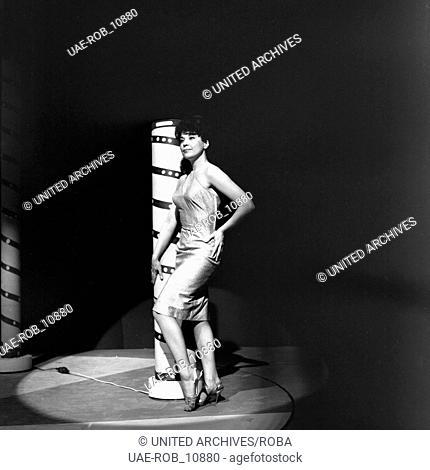 Werner Müllers Schlagermagazin, Musiksendung, Deutschland 1962, Regie: Klaus Überall, Gaststar: Rita Paul