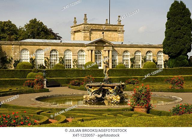 The Italian Garden at Blenheim Palace, Woodstock