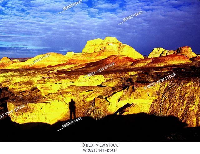 Xinjiang,Wucai Mountain