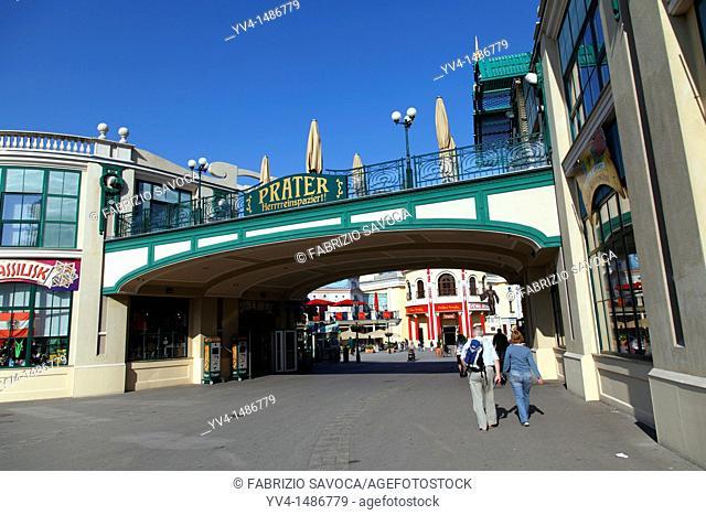 Austria, Vienna, Prater amusement park