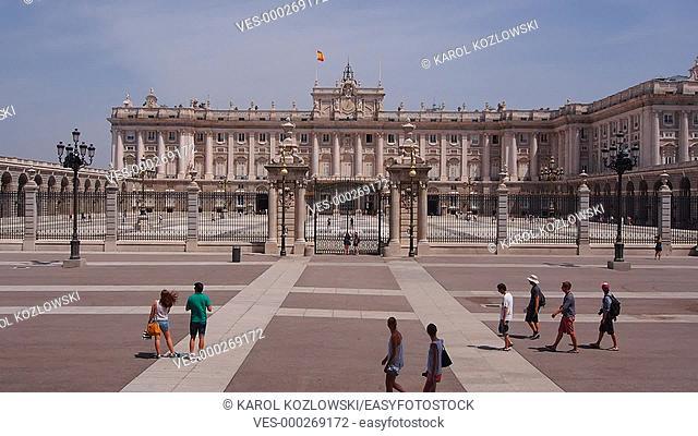 Palacio Real – Royal Palace in Madrid, Spain