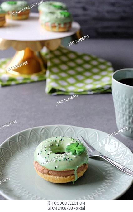 Donuts for St. Patrick's Day