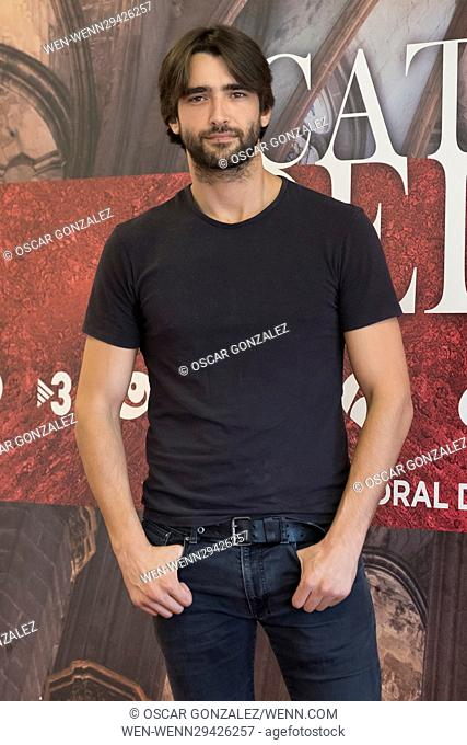 'The Cathedral of the Sea' photocall in Madrid Featuring: Aitor Luna Where: Madrid, Spain When: 23 Aug 2016 Credit: Oscar Gonzalez/WENN.com