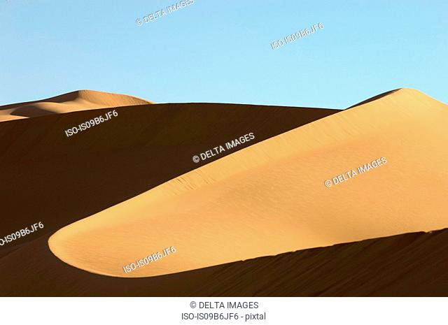 Erg Awbari, Sahara desert, Fezzan, Libya