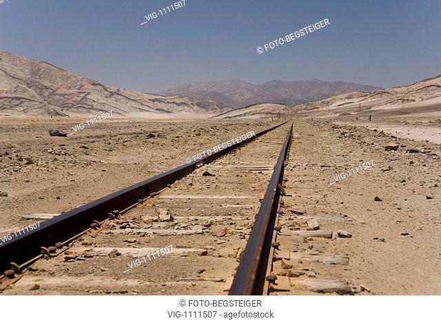 CHILE, ATACAMA DESERT, 11.02.2009, Wüste, Chile, Südamerika - Atacama Desert, Chile, 11/02/2009