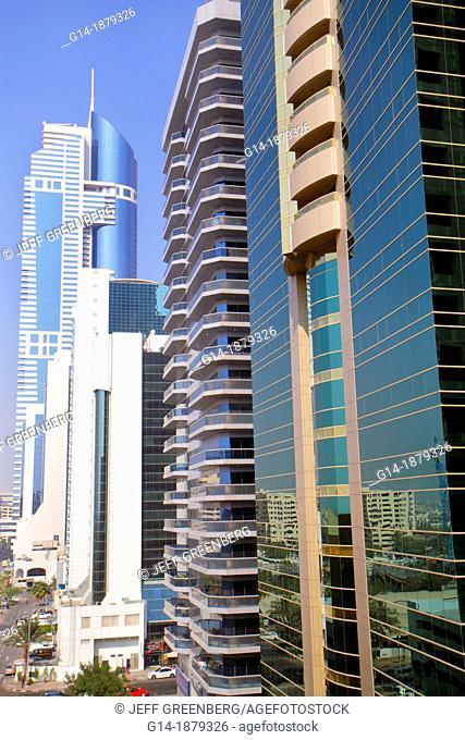United Arab Emirates, Dubai, Trade Centre, Sheikh Zayed Road, HHHR Tower
