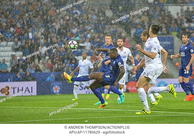2016 Premier League Football Leicester City v Swansea Aug 27th. 27.08.2016. King Power Stadium, Leicester, England. Premier League Football