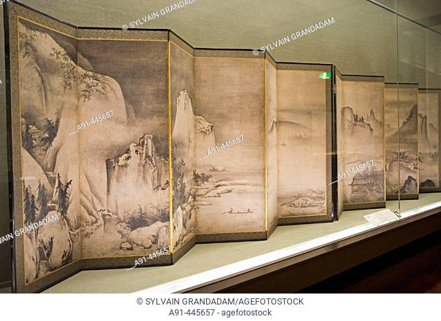 The National Museum in Ueno shelters some of the most famous masterpieces of Japanese Art through its history .Tokyo. Japan