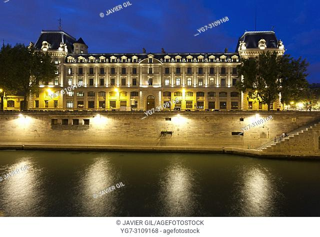 Police office, Paris, France