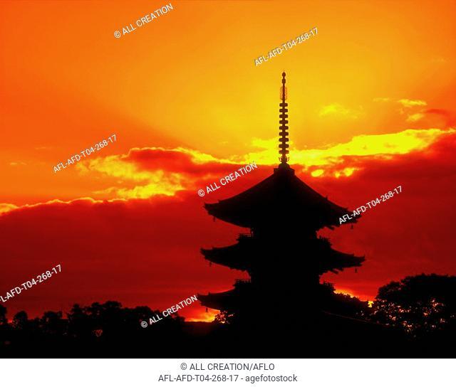 Higashi-ji, Kyoto, Japan