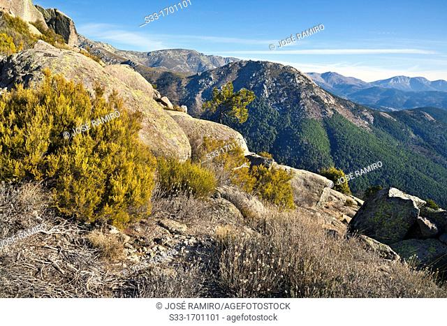 Sierra de Gredos from the Arbillas peak  Ávila  Castilla León  Spain