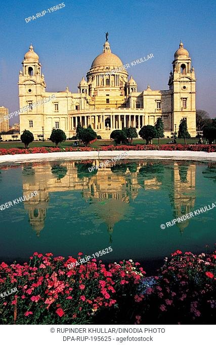 Victoria memorial, kolkata, west bengal, india, asia