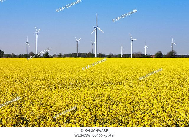 Germany, Lower Saxony, Wind park