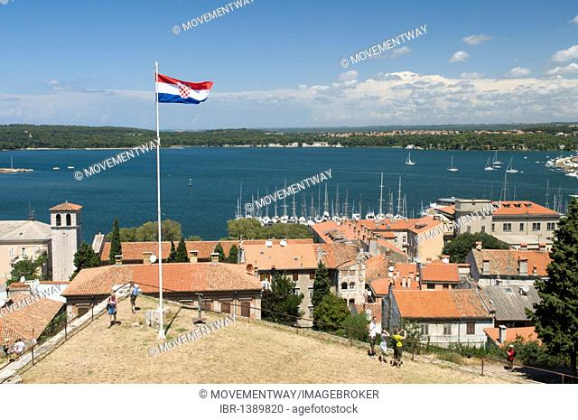 View from the fortress, Pula, Istria, Croatia, Europe