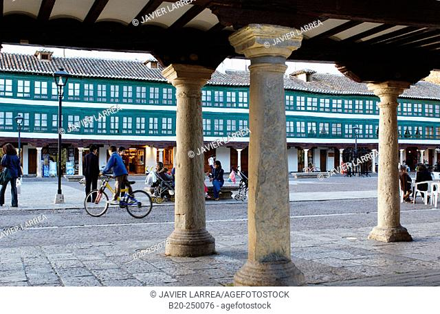 Main Square. Almagro. Ciudad Real province. Spain