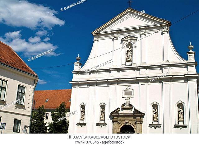 Church of St Catherine in the Upper Town, Zagreb, Croatia