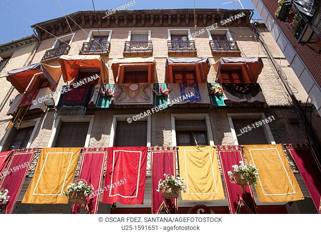 Spain  Castilla La Mancha  Toledo  Corpus Christi day