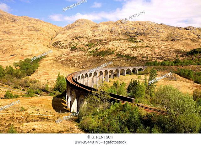 Glenfinnan Viaduct, United Kingdom, Scotland, Glennfinnan